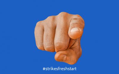 #STRIKESFRESHSTART CHALLENGE IS FOR YOU