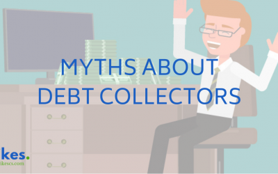 TOP 5 MYTHS ABOUT DEBT COLLECTORS